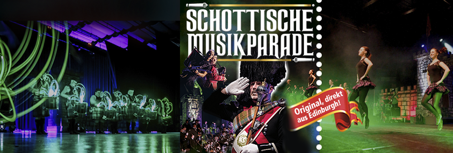 Tickets, Konzertkarten Schottische Musikparade & The Scottish Musicparade
